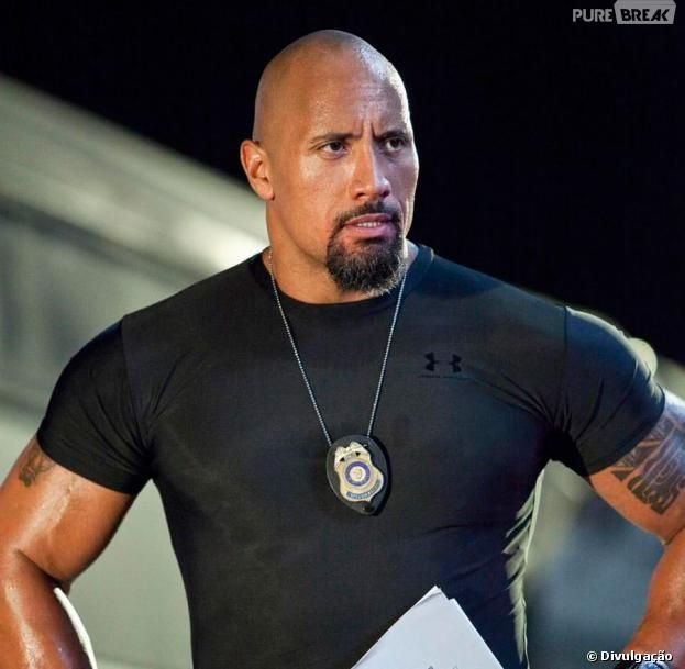 The Rock Is Sexy C'mon Look at his abes and dam lol