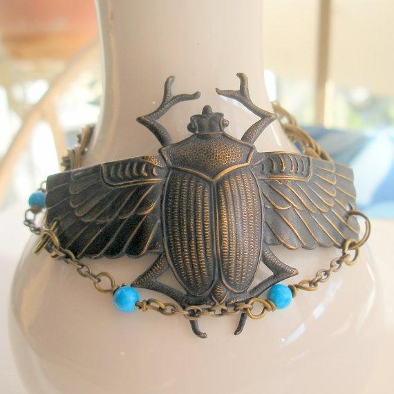 egyptian cuff bracelet tattoo - photo #8