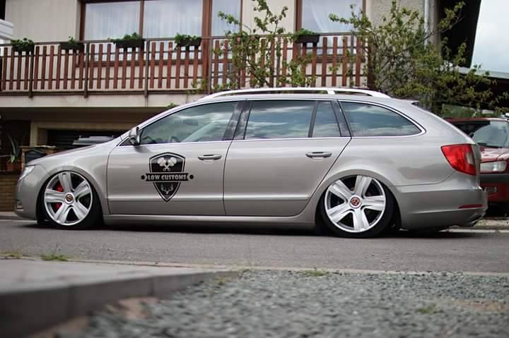 "Czech TuninG !!"" Škoda Superb"