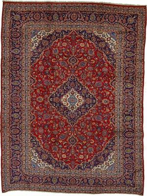 9' 7 x 12' 10 Kashan Rug  on  Daily Rug Deals