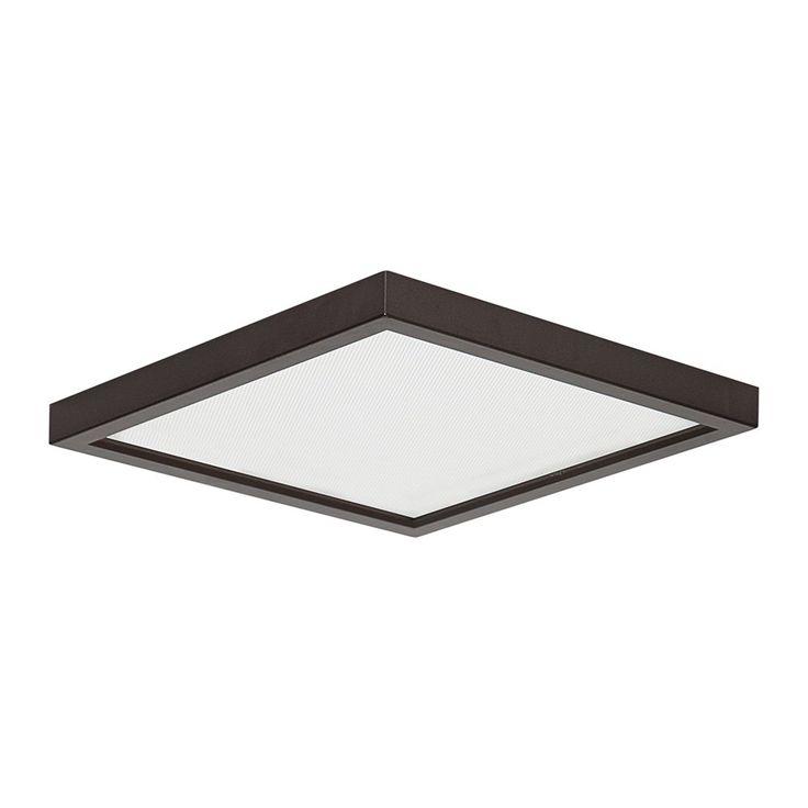 shop amax lighting led sm8dl led slim square flush mount ceiling light at atg stores ceiling lighting fixtures home office browse