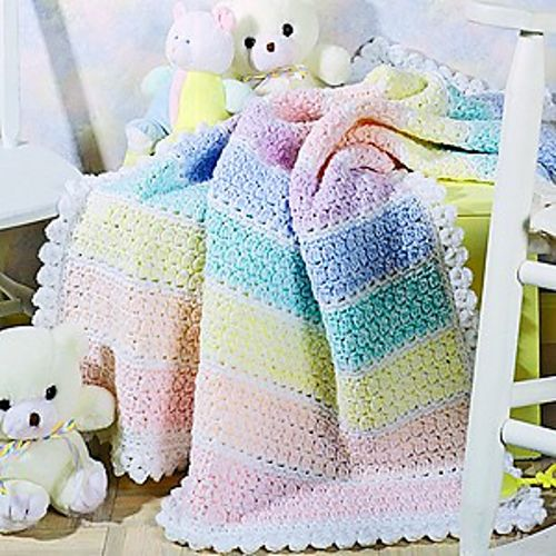 Crochet Double Strand Baby Blanket Pattern : 66 best images about Baby Afghans on Pinterest Blanket ...