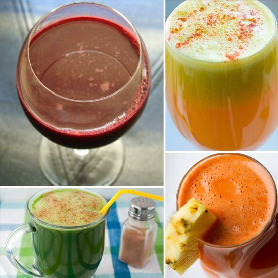 Taste the Real Rainbow: 7 Colorful Juice Recipes....glowing sunshine juice