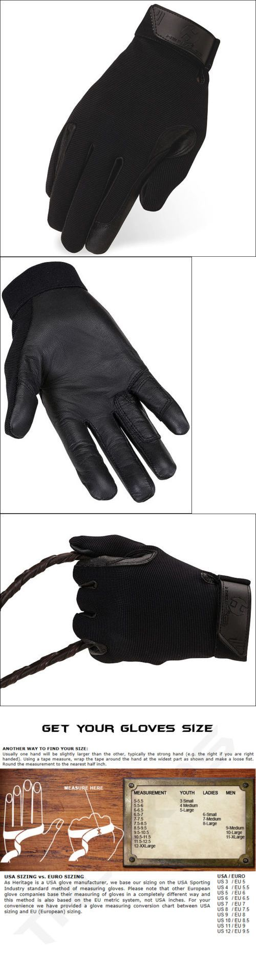 Ladies leather horse riding gloves - Riding Gloves 95104 12 Size Heritage Tackified Performance Riding Gloves Horse Equestrians Black
