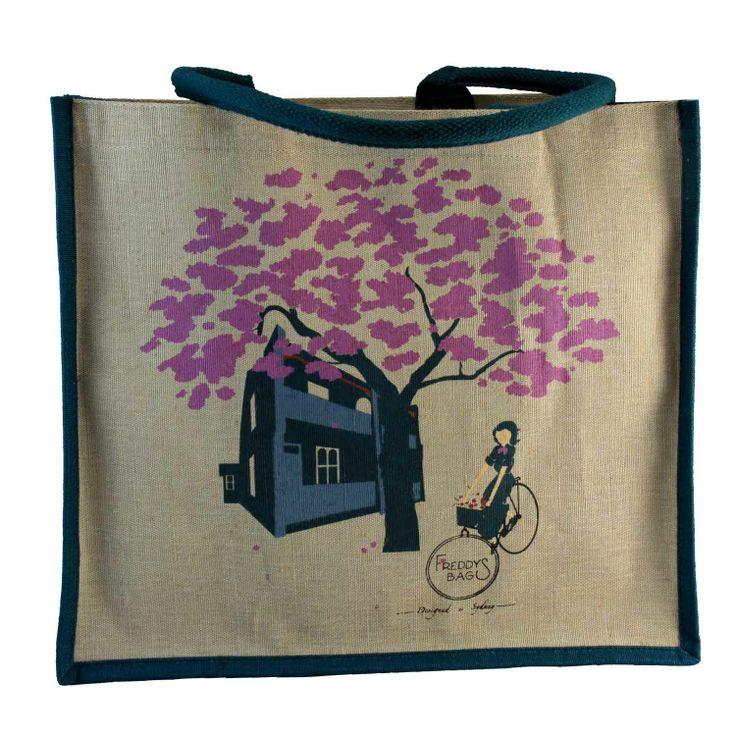Frangipani Tree Tote Bag - Freddy's Bags