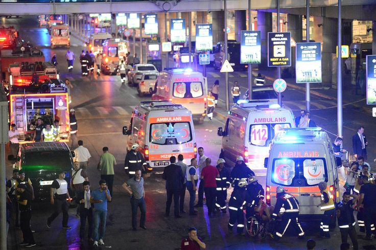 Explosions Rock Istanbul Airport, Multiple Deaths Reported - NBC News