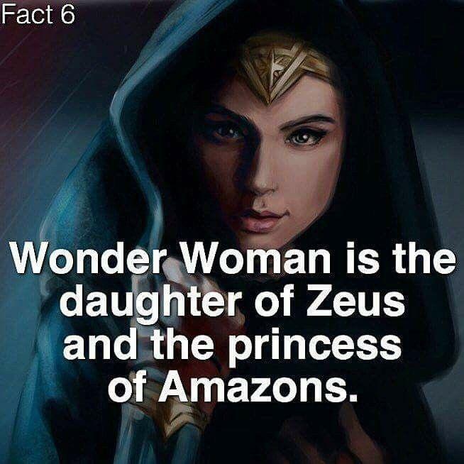 Pin By Ronald De Loach On Superhero Fun Facts Daughter Of Zeus Fun Facts Justice League