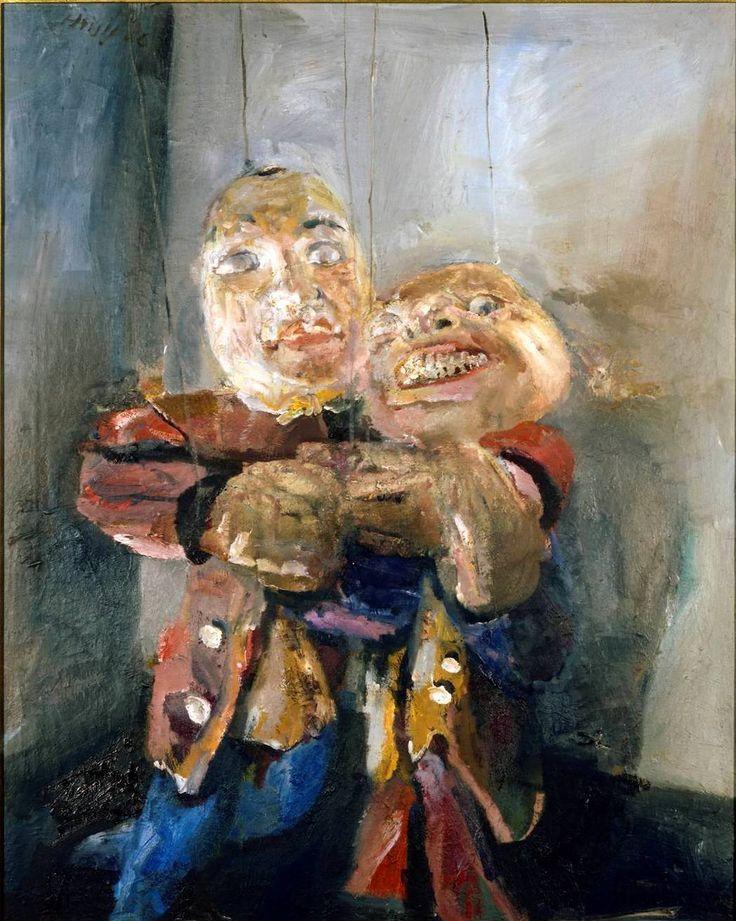 Bernhard Heisig, Sich umarmende Puppen, 1986 © VG Bild-Kunst, Bonn 2010