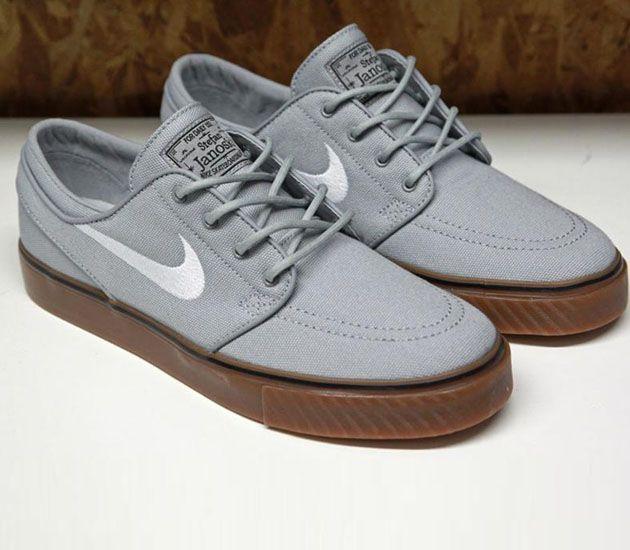 Nike SB Stefan Janoski Low-Wolf Grey-Gum