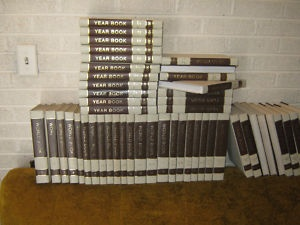 World Book Encyclopedias ... how we learned about the world before the Internet and Google came along.