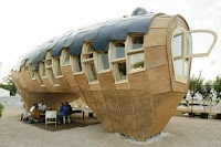This house is truly fantastic - visit the web site to see pictures of the inside, and building process. It's gorgeous.