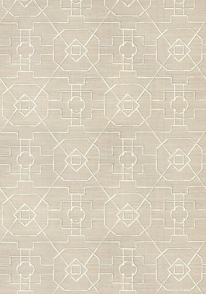 EAST GATE, <br />                                     Taupe, <br />                                     T41151, <br />                                     Collection Grasscloth Resource 3 from Thibaut