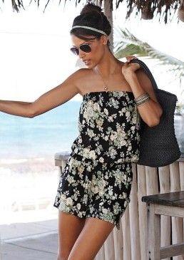 Overal s květinovým vzorem s.Oliver #avendro #avendrocz #avendro_cz #fashion #summer #partyoutfit