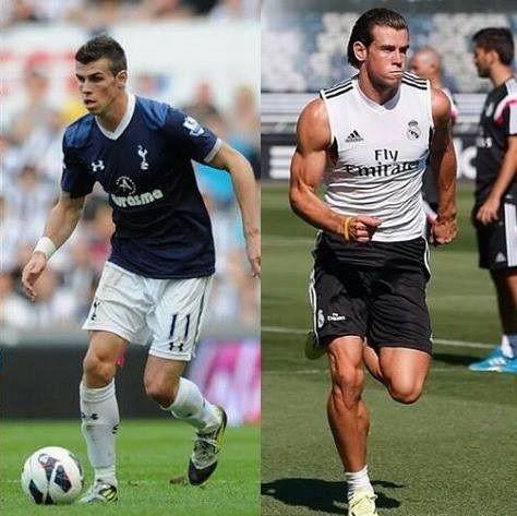 Przemiana fizyczna Walijczyka • Tak wyglądał Gareth Bale w Tottenhamie a tak wygląda teraz w Realu Madryt • Wejdź i zobacz foto >> #bale #football #soccer #sports #pilkanozna