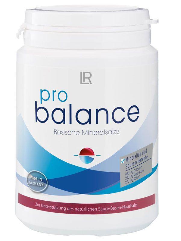 ProBalance contient des minéraux basiques, utilisables rapidement et simplement par votre corps. Des minéraux précieux tels que le magnésium, le calcium et le cuivre aident à maintenir l'équilibre acido-basique. Que vous apporte ProBalance? Apporte une sélection de minéraux basiques Contient des minéraux et des oligo-éléments Sans lactose