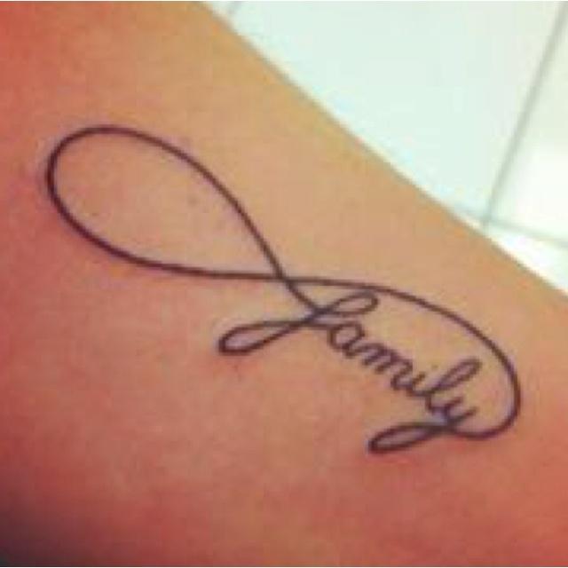 21 Infinity Sign Tattoos You Won T Regret Getting: 25+ Bästa Infinity Tattoo Family Idéerna På Pinterest