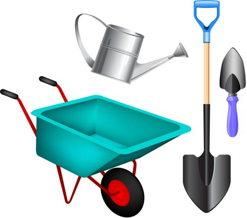 262 best images about clip art out side on pinterest for Gardening tools clipart