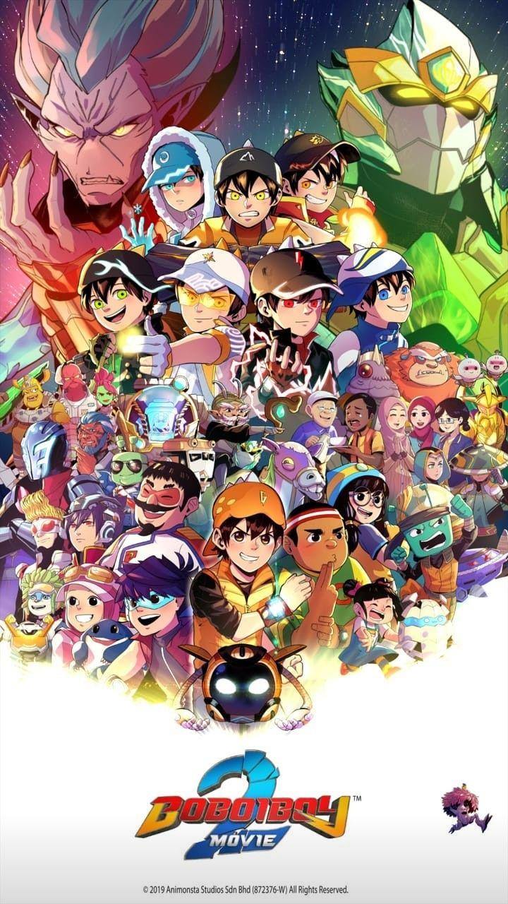 Boboiboy The Movie 2 Wallpaper Seni Anime Ilustrasi Komik Ilustrasi Karakter