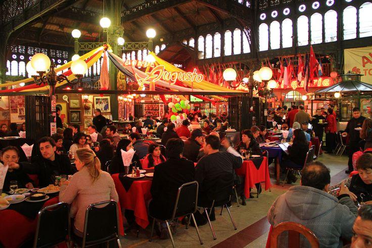 The Mercado Central, Chile