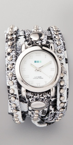 Nice!: Collection Snakeskin, Mer Collection, La Mer Watches, Bali Studs, Anniversaries Gifts, Snakeskin Bali, Studs Wraps, Bling Bling, Wraps Watches