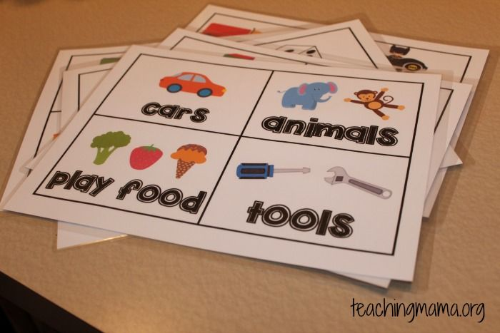 Toy Room Organization and Free Toy Bin Labels