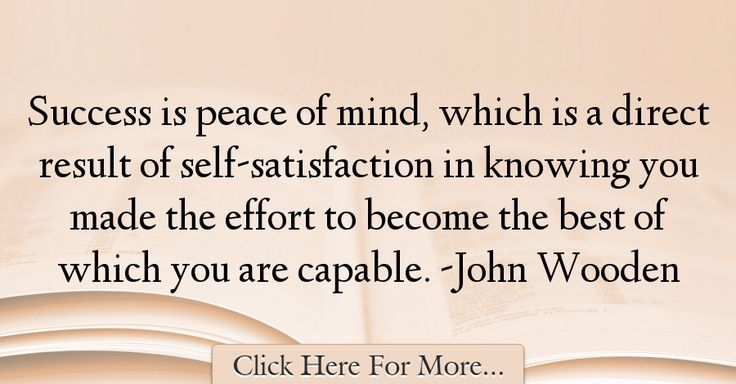 John Wooden Quotes About Peace - 52904