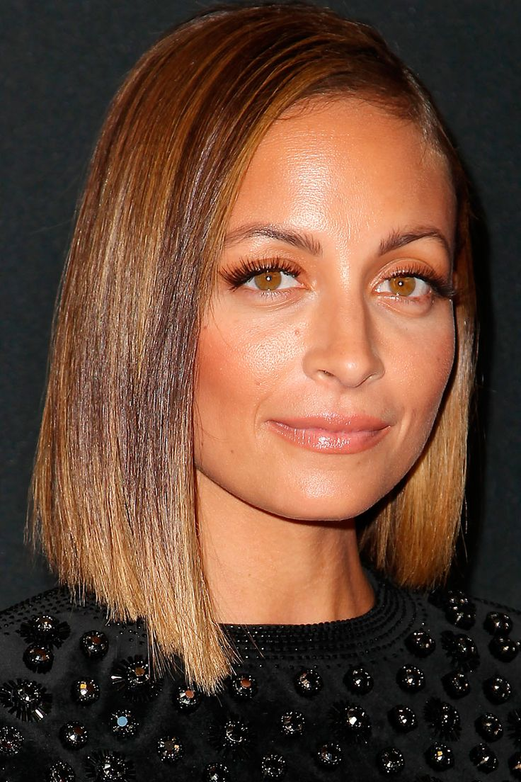 Nicole Richie Goes For A Sleek And Super-Straight Bob At The 10th Annual Style Awards In New York, 2013