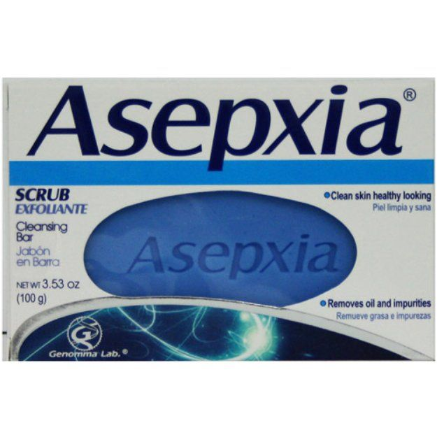I'm learning all about Asepxia Scrub Cleansing Bar Jabon Exfoliante at @Influenster!