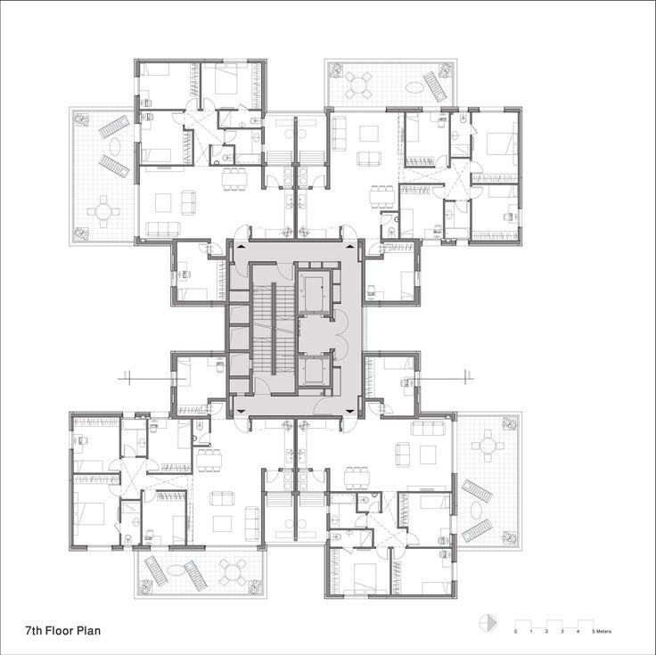 Apartment Building Design Drawing 23 best floorplans images on pinterest | floor plans, architecture