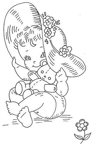 Pretty Babies quilt 6
