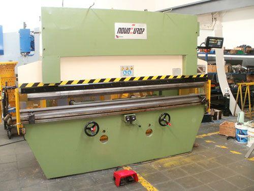 Plegadora usada Novaeurop 80Tnx2850mm