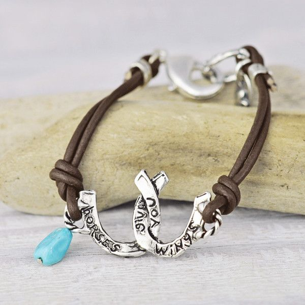 Horses Give You Wings Bracelet