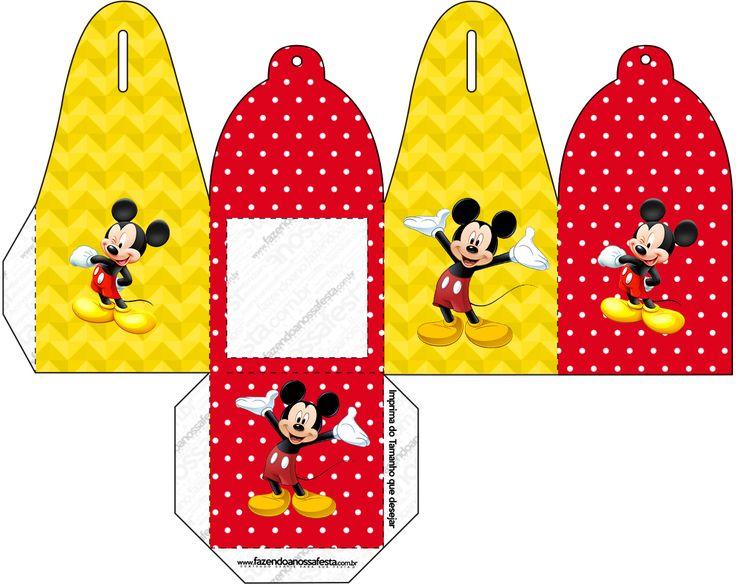 Caixa com Foto Mickey: