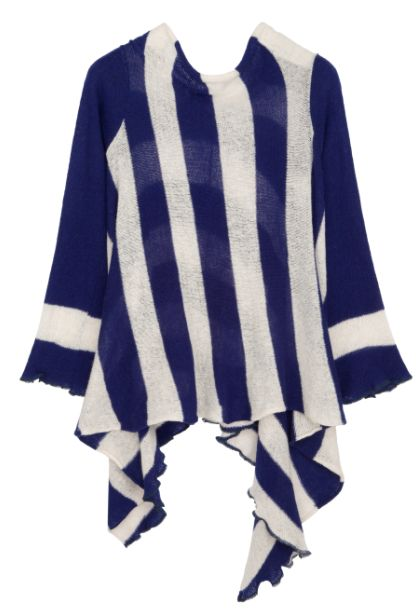 Nautical Sweater - €125  www.heatherfinn.com
