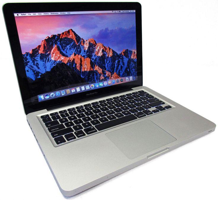 "Apple MacBook Pro 13"" 2.7GHz Core i7-2620M 500GB 8GB Mac OS X Sierra MC724LL/A #Apple"
