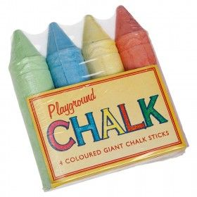 Get them making the most of the outdoors with this set of four giant playground chalks. £4.99