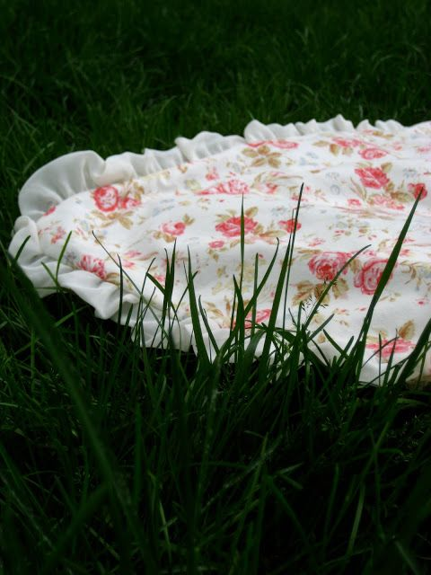 Cherry Street Cottage: DIY: luxuious Handdoek / Deken