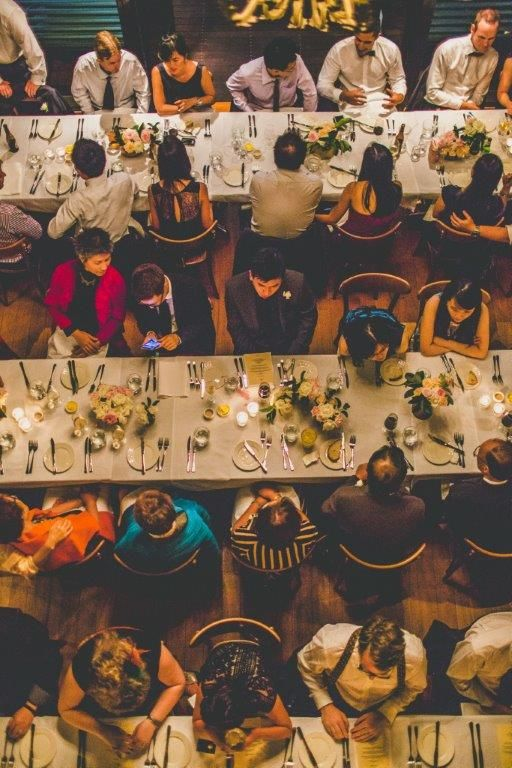 Wedding Dinner guests