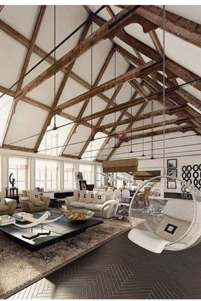 17 best images about vaulted ceiling on pinterest for Exposed beam vaulted ceiling