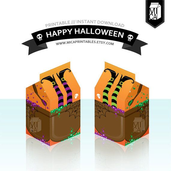 #Halloween #Printables #Party #Favor #Decoration #Witch by MicaPrintables