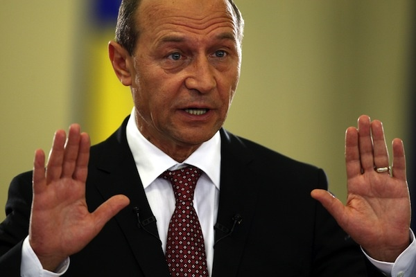 Basescu recunoaste: