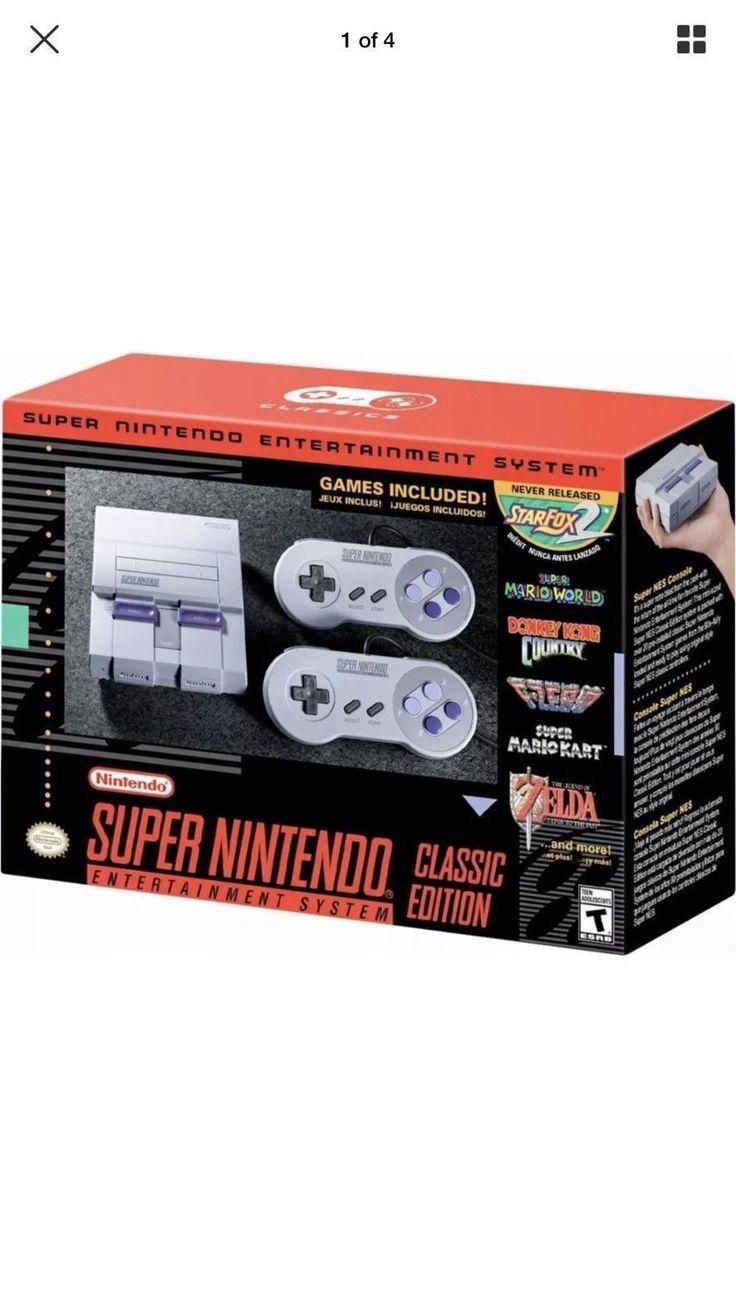 Super Nintendo Entertainment System: Super NES Classic Edition: $110.00 End Date: Thursday Apr-5-2018 16:15:57 PDT Buy It Now for only:…