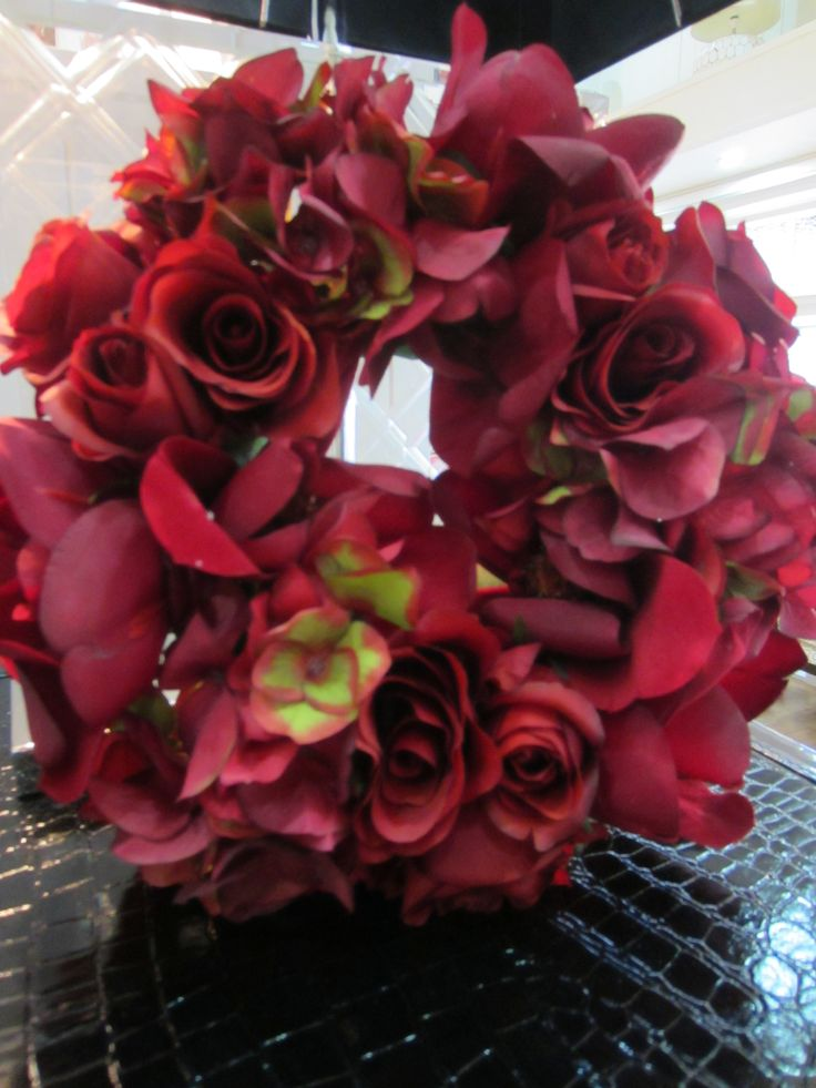 Beautiful rose Wreaths, medium & small #christmas