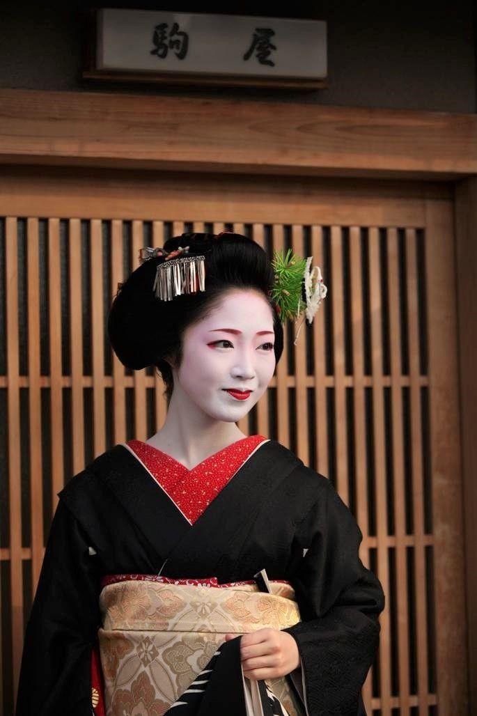 舞妓 とし夏菜さん。Maiko. Toshikana. #japan #kyoto #geisha #kimono #japanese #culture #maiko