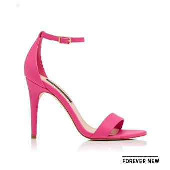 @forevernew shoes in hot pink add some colour to your dinner outfit @westfieldnz #fashionfeast