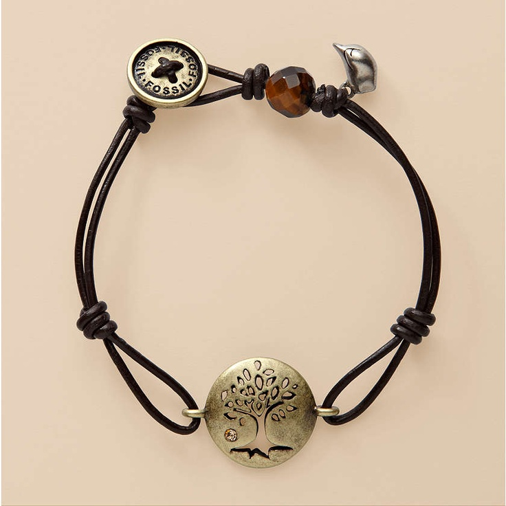 FOSSIL® Jewelry Bracelets:Women Brass Tree Bracelet JA3430