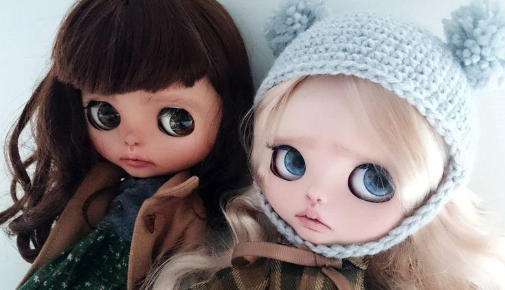 #blythe #doll #dolls #sisters #custom #customblythe