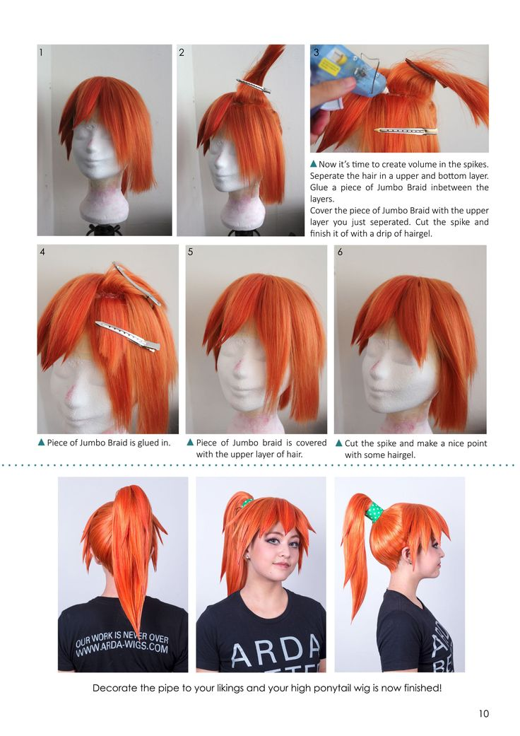 How to Make a Detachable Ponytail Wig w/ Extra Volume!