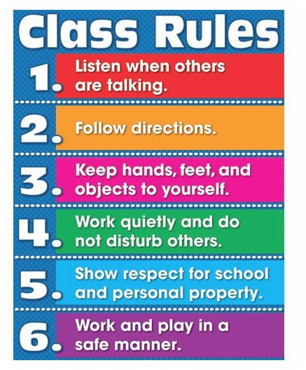 19 best images about Classroom rules on Pinterest | Set of ...