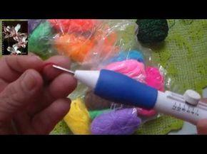 Bordando con Aguja mágica #3 - YouTube